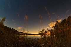 IMG_6487 (Desmojosh) Tags: canon 70d 8mm altura f3 medford new jersey nj atsion lake night shots long exposure stars luminar landscape blue water clouds trees