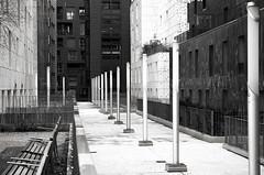 Espaces (Atreides59) Tags: lyon rhône rhone urban urbain street france bancs architecture black white bw blackandwhite noir blanc nb noiretblanc pentax k30 k 30 pentaxart atreides atreides59 cedriclafrance
