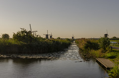 Kinderdijk Windmills (rschnaible) Tags: windmill kinderdijk netherlands holland unesco world heritage site history historic work production sightseeing wind power pump outdoor landscape water architecture building home house circa 1738
