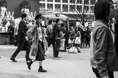 Mademoiselle (burnt dirt) Tags: asian japan tokyo shibuya station streetphotography documentary candid portrait fujifilm xt1 bw blackandwhite laugh smile cute sexy latina young girl woman japanese korean thai dress skirt shorts jeans jacket leather pants boots heels stilettos bra stockings tights yogapants leggings couple lovers friends longhair shorthair ponytail cellphone glasses sunglasses blonde brunette redhead tattoo model train bus busstation metro city town downtown sidewalk pretty beautiful selfie fashion pregnant sweater people person costume cosplay boobs