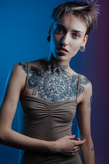 (mrksaari) Tags: d750 pro7b prob gel 2470mmf28g model portrait fashion helsinki finland studio turbox profoto tattoo ink