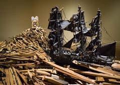 No Turning Back (dayman1776) Tags: sony a6000 art museum gibbes charleston south carolina ship sea modern african american black culture history slavery