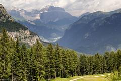 Panorama fassano (cesco.pb) Tags: catinaccio valdifassa dolomiten dolomiti dolomites alps alpi trentino italia italy canon canoneos60d tamronsp1750mmf28xrdiiivcld montagna mountains