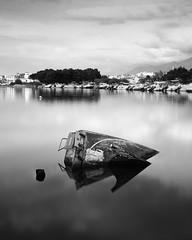 Marijac (Wilco1954) Tags: corse france corsica mrijac river sunken saintflorent longexposure leefilters mono