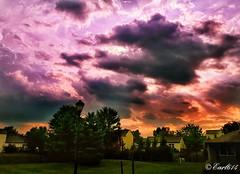 Welcome to Fall! (Edale614) Tags: sunset dusk sky fall naturephotography naturelovers nature photography photo photooftheday picoftheday pic columbus ohio ohiophotos ohioexplored exploreohio inexplore cbus earl614 wanderlust aroundtheworld clouds