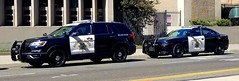 California Highway Patrol Ford Interceptor Utility (new) and Dodge Charger (Caleb O.) Tags: chp dodge charger ford interceptor utility
