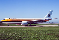 Monarch A300-600R (Martyn Cartledge / www.aspphotography.net) Tags: a300600r aerodrome aeroplane air airbus aircraft airline airliner airplane airport aspphotography aviation cartledge civilairline civilairliner flight fly flying gmons jet martyn monarch plane runway transport wwwaspphotographynet uk asp photography