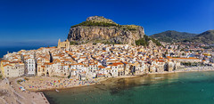 View of Cefalu from above (tomikaro) Tags: sicily palermo agrigento scopello cefalu italy vacation trip erice trapani