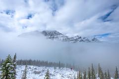 Peyto_Lake_09172018_032-HDR-Edit (Julliard Kenneth) Tags: red calgary alberta canada snow mountain peytolake banffnationalpark landscape