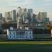 London from Greenwich Observatory