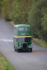 Green amongst the greenery (SelmerOrSelnec) Tags: preserved salford leyland titan pd2 metrocammell mcw wrj179 doningtonpark showbus bus rally