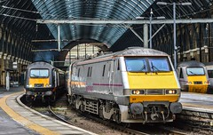 91127, London King's Cross (JH Stokes) Tags: 91127 class91 eastcoast eastcoastmainline ecml electriclocomotives ferroequinology londonkingscross london zone1 terminus photoshop trains trainspotting tracks transport railways photography