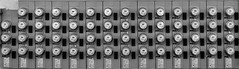 Individualized (arbyreed) Tags: arbyreed smileonsaturday copyrightbymankind electric electrical meters electricmeters grid power electricpower inarow monochrme bw blackandwhite wideaspectratio