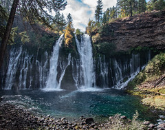 Falls_119961 (gpferd) Tags: water waterfall burney california unitedstates us