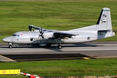 Republic of Singapore Air Force | Fokker 50 | 714 | Singapore Changi (Dennis HKG) Tags: rsaf singapore airforce fokker 50 fokker50 f50 turboprop aircraft airplane airport plane planespotting military 714