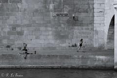 Le guitariste du pont neuf (letexierpatrick) Tags: noiretblanc noir blanc noirblanc bw blackandwhite black white seine street paris france europe extérieur explore nikon nikond7000 quai