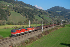 1144 265 + 1144 075 mit 48480, Rottenmann (Jan Roider) Tags: öbb 1144 güterzug rottenmann paltenetal schoberpass eisenbahn eisenbahnfotografie trainspotting