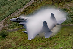 USAF F15E vapour (tectonic80) Tags: f15 airplane jet usaf strike eagle cloud mist vapour best f15e sonic knots aeroplane low lowfly people photoadd mach machloop