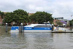 Brisbane CityCat (philip.mallis) Tags: brisbane river brisbaneriver ferry pier teneriffe