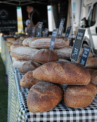 Bloomers. (David M:) Tags: food bread artisan sourdough loaf market stall