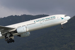 B-HNF, Boeing 777-300, Cathay Pacific, Hong Kong (ColinParker777) Tags: bhnf boeing 777 777300 b777 b777300 cathay pacific cx cpa airlines airways air aviation fly flying flight aircraft airliner aeroplane plane takeoff climb departure mountains lantau hong kong hkg vhhh chek lap kok airport hksar hk rolls royce canon 7d2 7dmk2 7dmkii 7dii 200400 l lens zoom telephoto pro