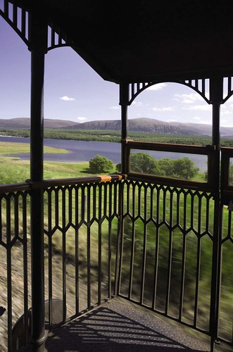 Belmond Royal Scotsman Open Observation Deck