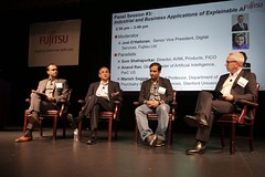 "Panel Session #3: ""Industrial and Business Applications of Explainable AI"" (Fujitsu_Labs) Tags: flats flats2018 symposium fujitsu event"
