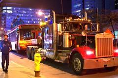 036 -1vibfwlcondnr (citatus) Tags: ttc bus 8103 towed mount pleasant road eglinton avenue east toronto canada fall night 2018 pentax k5 ii