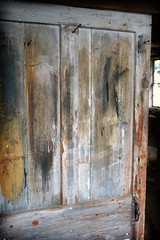 This door's had a colorful life (*CA*) Tags: ct mansfield gurleyvillegristmill door