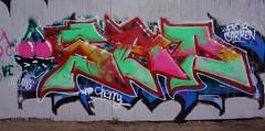 OLDENBURG - Metal Wall / - Street: Stedinger Straße, Drielaker Straße / -  Graffiti, Streetart / - the 83rd picture (tusuwe.groeber) Tags: projekt project lovelycity graffiti germany deutschland lowersaxony oldenburg streetart niedersachsen city stadt farbig farben favorit colourful colour sony sonyphotographing nex7 bunt red rot art gebäude building gelb grün green yellow abs psk diejungs wandgestaltung metal wall wand stedingerstrase drielakerstrase