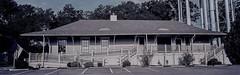 Fayetteville Depot Panorama (Neal3K) Tags: fayettevillega fujig617panoramacamera georgia kodakektar100
