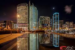 Beirut Marina (Paul Saad) Tags: lebanon beirut marina longexposure nikon night reflection lights nightlife