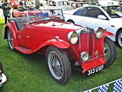 892 MG TA Midget (1937) (robertknight16) Tags: mg british 1930s ta midget sportscar nuffield himley 313uxf