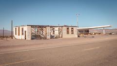 Bones In The Desert (Pedalhead'71) Tags: abandoned california desert garage ghosttown ludlow route66 servicestation unitedstates us