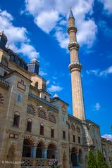 10082011-IMGP1078 (Mario Lazzarini.) Tags: moschea turchia turkey edirne archi minareto sinan selimiye finestre edificio cielo architettura historic old camii