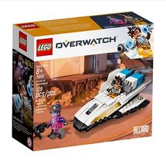 LEGO Overwatch Tracer vs Widowmaker (hello_bricks) Tags: lego overwatch