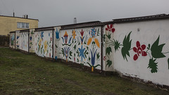 Władysławowo Graffiti 06 - Kashubisk mønster og symbolik (Walter Johannesen) Tags: graffiti władysławowo kashubisk mønster og symbolik
