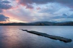 Sunrise in Kinlochard (Photography Revamp) Tags: green kinlochard scotland landscape nature loch longexposure le sunrise lake britain uk bridge hoya manfrotto