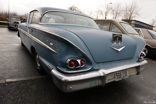 1958 Chevrolet Bel Air sport sedan