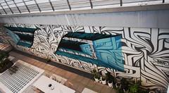 Astro (HBA_JIJO) Tags: streetart urban graffiti art france hbajijo wall mur painting peinture trompeloeil astro paris92 urbain ladéfense form