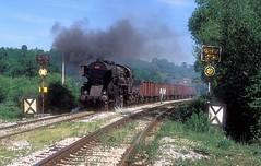 33 503  Lukavac  15.04.16 (w. + h. brutzer) Tags: lukavac 33 eisenbahn eisenbahnen train trains railway jugoslawien dampflok dampfloks steam lokomotive locomotive zug webru analog nikon