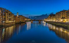 From Florence with Love (Hany Mahmoud) Tags: italy florence dusk landscape travel vacation holiday explore europetravel nikon photooftheday sunset sunrise river