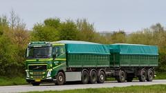 BX70028 (18.05.02, Motorvej 501, Viby J)DSC_5800_Balancer (Lav Ulv) Tags: 246118 spritny brandnew brandneu splinterny rigid trailer green volvo volvofh fh4 fh500 e6 euro6 8x4 nielsthnielsen truck truckphoto truckspotter traffic trafik verkehr cabover street road strasse vej commercialvehicles erhvervskøretøjer danmark denmark dänemark danishhauliers danskefirmaer danskevognmænd vehicle køretøj aarhus lkw lastbil lastvogn camion vehicule coe danemark danimarca lorry autocarra danoise vrachtwagen motorway autobahn motorvej vibyj highway hiway autostrada