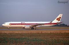 HS-TEL Airbus A330 Thai (@Eurospot) Tags: hstel airbus a330 a330300 thai lfbo toulouse blagnac