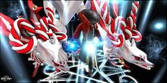 #4 - Mafuyu (Yvain Vayandar) Tags: 00 neojapan event air japanesse magicien warrior shikigami monster magic secondlife sl fantasy