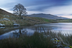 Llyn Dywarchen 03-6.10.2018 (Ken Bland) Tags: llyndywarchen snowdonia northwales snowdon mountain wales lake landscapephotography bluelight longexposure nikon nikond7100 ruins tree hills neutraldensityfilter peaceful tranquil calm beautiful