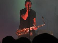 Nine Inch Nails - The Anthem DC (dckellyphoto) Tags: nineinchnails trentreznor nin theanthem dc washingtondc districtofcolumbia concert show band industrial saxophone man microphone green dark