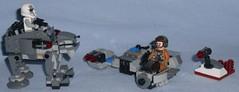 Lego - 75195 Ski Speeder vs. First Order Walker Microfighters (Darth Ray) Tags: lego starwars 75195 skispeeder vs firstorder walker microfighters star wars ski speeder first order