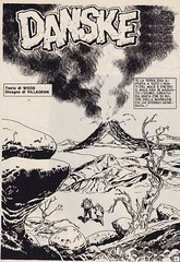 Lanciostory #v19#26 / Danske (micky the pixel) Tags: comics comic fumetti heft adventure sf scifi euraeditoriale lanciostory robinwood enriquevillagran danske vulkan volcano
