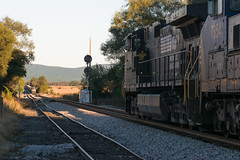 18-6715 (George Hamlin) Tags: virginia stuarts draft railroad manifest freight train norfolk southern railway ns 16t mountains trees signal cpl color position light shenandoah valley track shadow shade 15t photo decor george hamlin photography